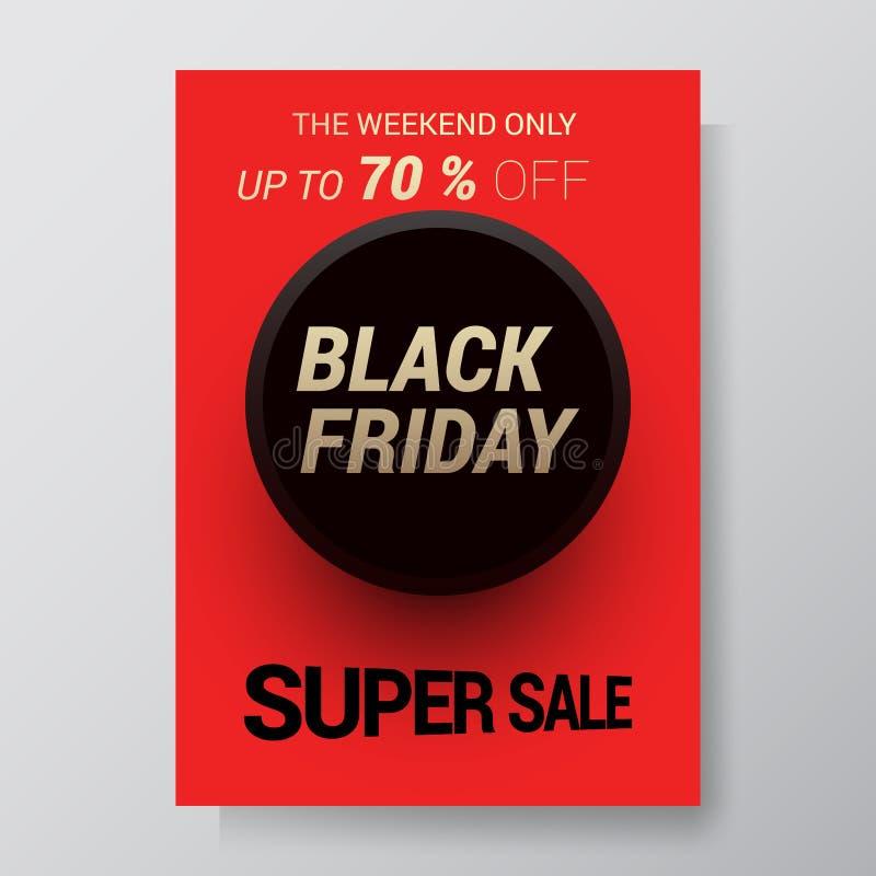 Bakgrund för Black Friday försäljningsabstrakt begrepp Vektorreklamblad med trenddesign också vektor för coreldrawillustration 10 vektor illustrationer