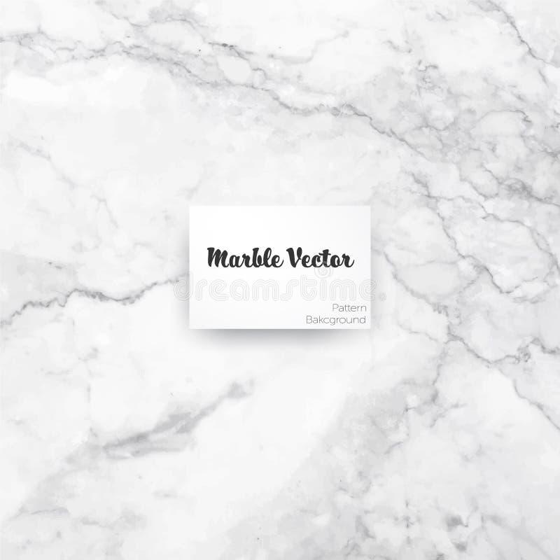 Bakgrund för Carrara vit marmortextur vektor illustrationer