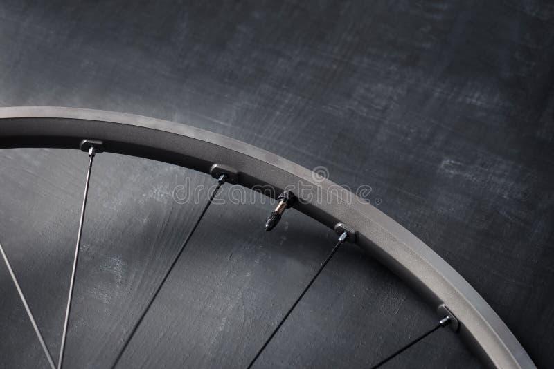 Bakgrund för cykelhjul arkivbild