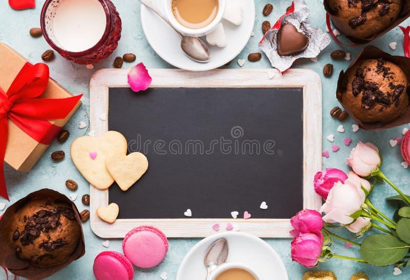 Bakgrund för dag för valentin` s royaltyfri bild