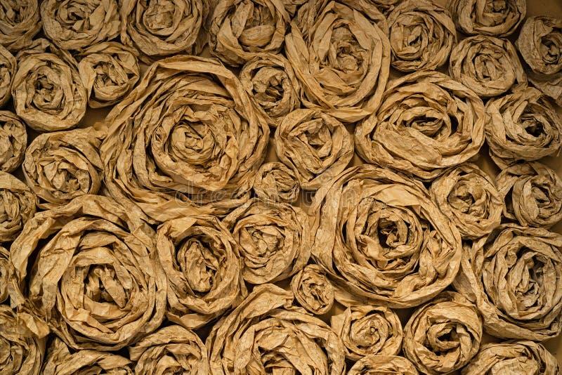 Bakgrund för dekor för konstpapper handgjord arkivbild