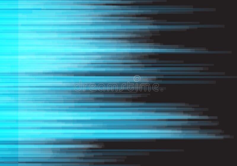 Bakgrund för Digital tekniskt felvektor Vektor förvriden stor dataskada för signal royaltyfri illustrationer