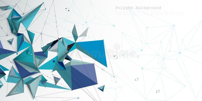 Bakgrund för färg för lutning för abstrakt vektorillustrationdesign futuristisk Modernt digitalt vetenskapsteknologibegrepp f?r b royaltyfri illustrationer