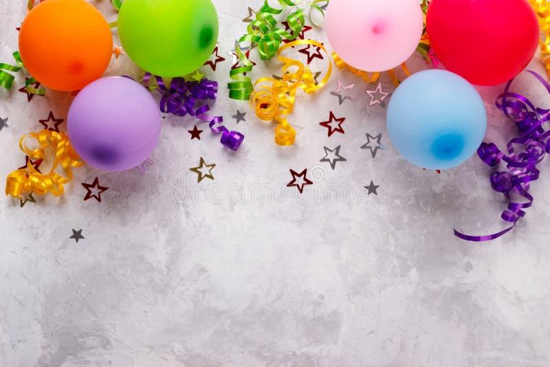 Bakgrund för födelsedagparti royaltyfri foto