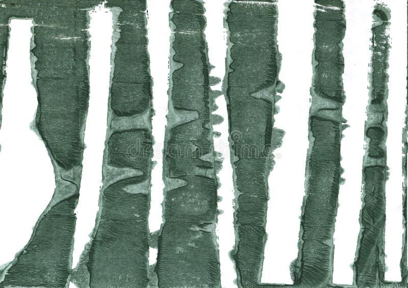 Bakgrund för Feldgrau abstrakt begreppvattenfärg royaltyfri bild