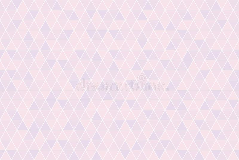 Bakgrund för geometrisk modell för triangel sömlös royaltyfri fotografi
