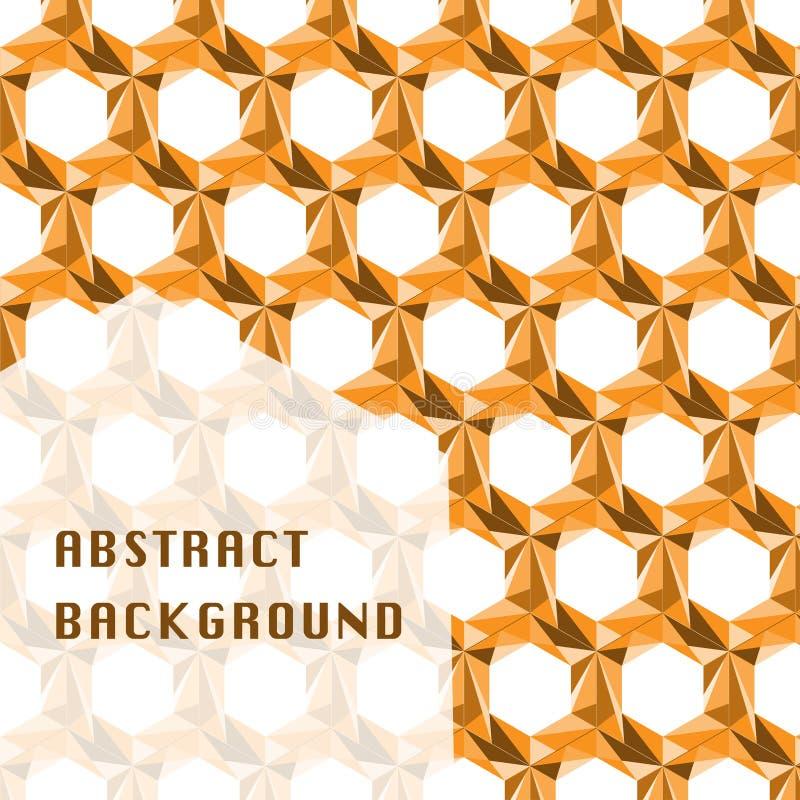 Bakgrund för honungskakadesignabstrakt begrepp arkivbilder