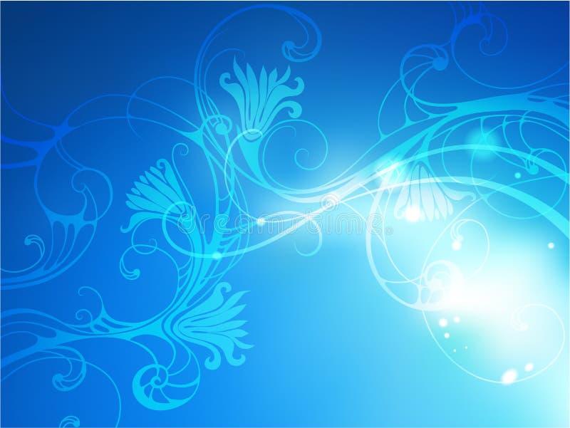 Bakgrund för jul för vektorillustrationabstrakt begrepp royaltyfri illustrationer