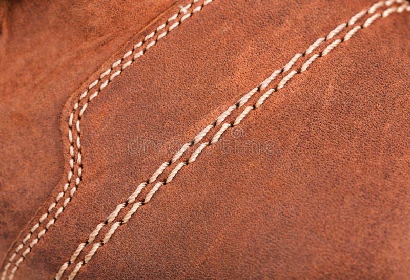 Bakgrund för läderkänga royaltyfri fotografi