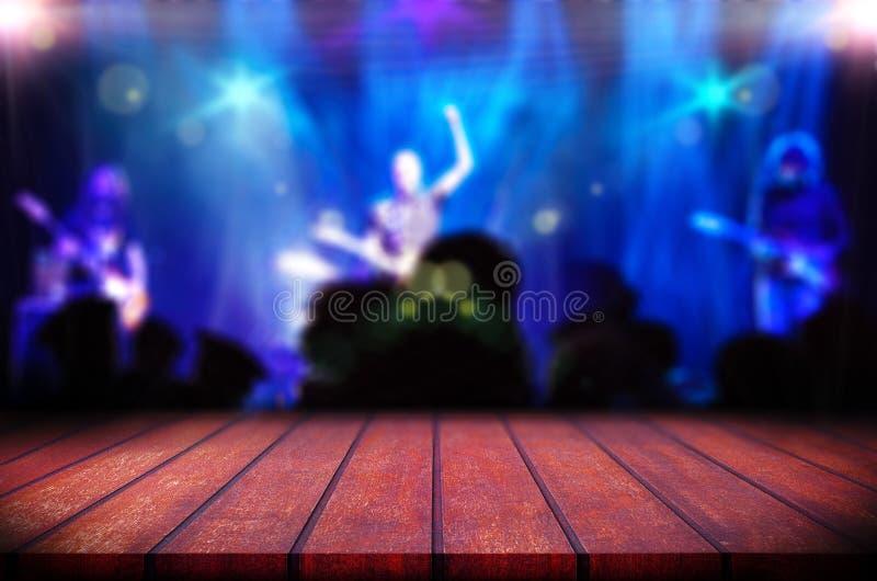 Bakgrund för Live musik royaltyfria bilder