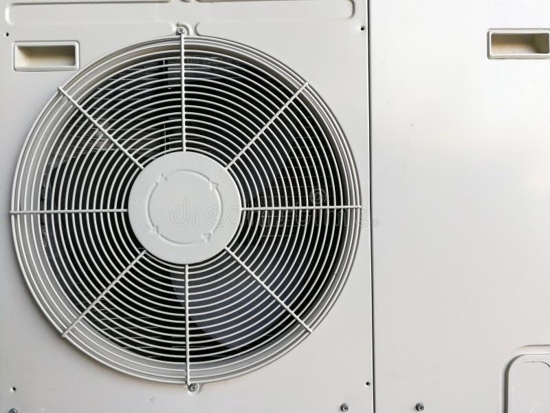 Bakgrund för luftvillkorkompressor arkivbilder