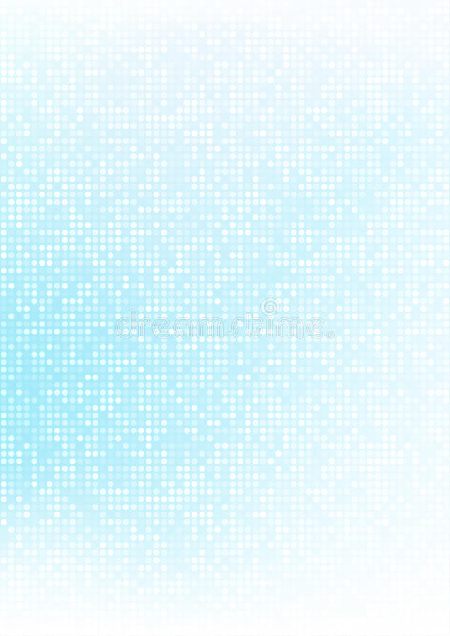 Bakgrund för lutning för abstrakt blått PIXEL för vektorteknologicirkel digital, businessbluemodellPIXEL i det pappers- formatet  vektor illustrationer