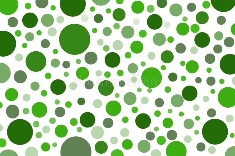 Download Bakgrund För Modell För Grön Färg För Konst Klassisk Prickig Stock Illustrationer - Illustration av wallpaper, modell: 78732051