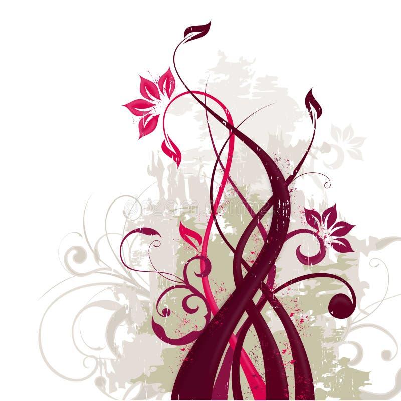 Bakgrund för modell för vektorblomma sömlös Elegant textur för bakgrunder Klassisk lyxig gammalmodig blom- prydnad, seamle stock illustrationer