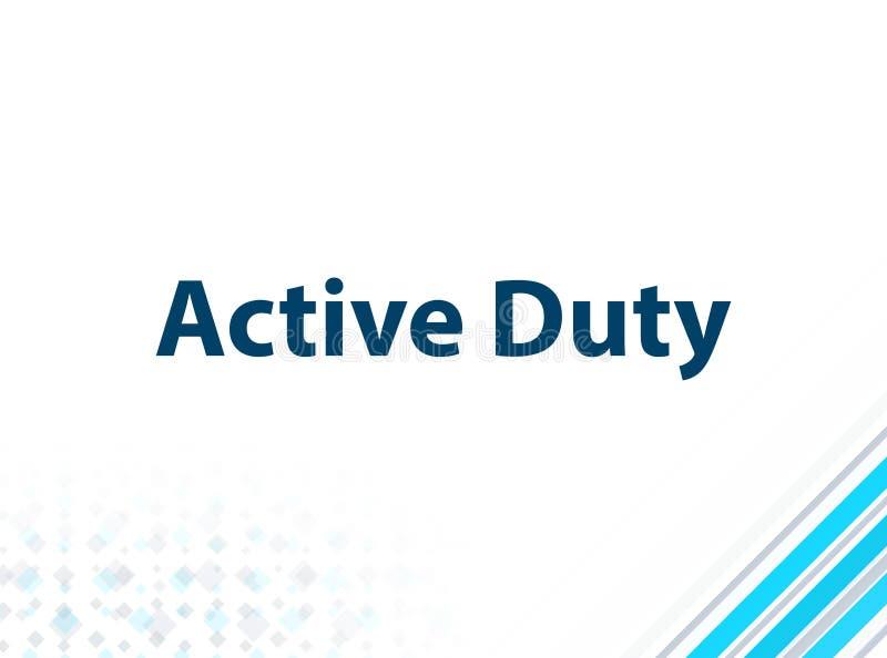 Bakgrund för modern plan design för aktiv arbetsuppgift blå abstrakt royaltyfri illustrationer