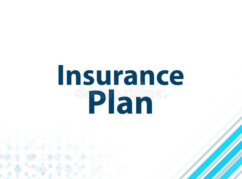 Bakgrund för modern plan design för försäkringplan blå abstrakt vektor illustrationer