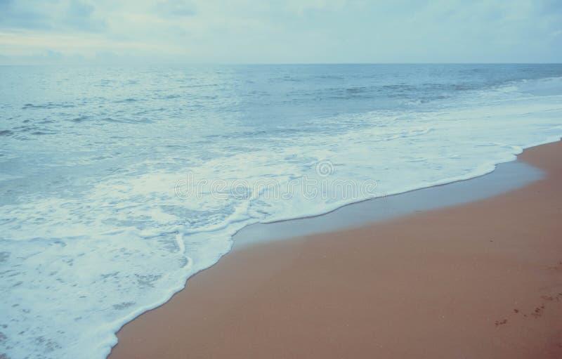 Bakgrund för natur för sommarstrandbakgrund arkivfoto