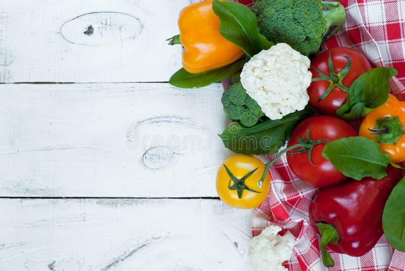 Bakgrund för organisk mat arkivfoton