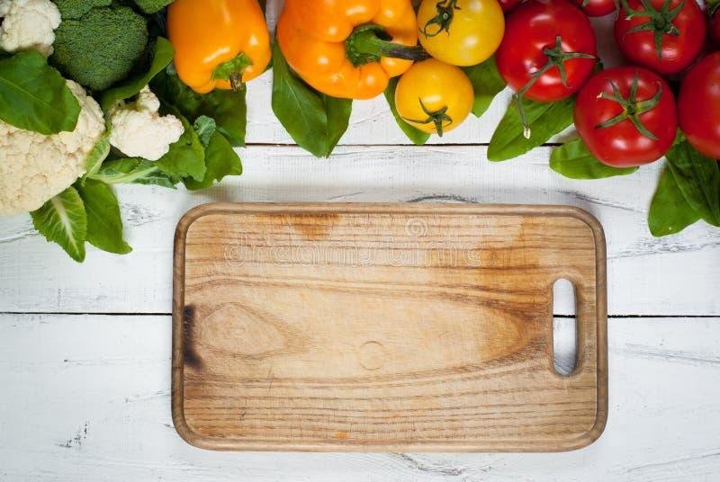 Bakgrund för organisk mat royaltyfri foto