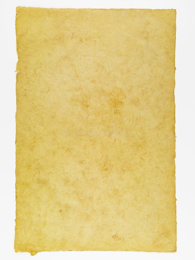 Bakgrund för pergamentpapper för att skriva royaltyfria foton
