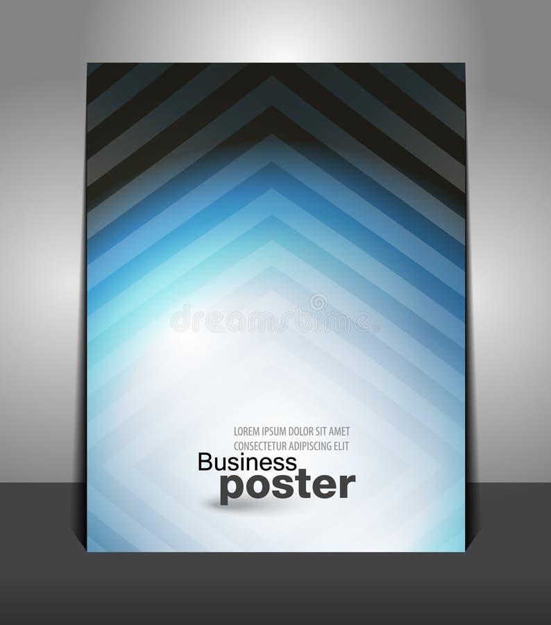 Bakgrund för reklambladdesigninnehåll vektor illustrationer