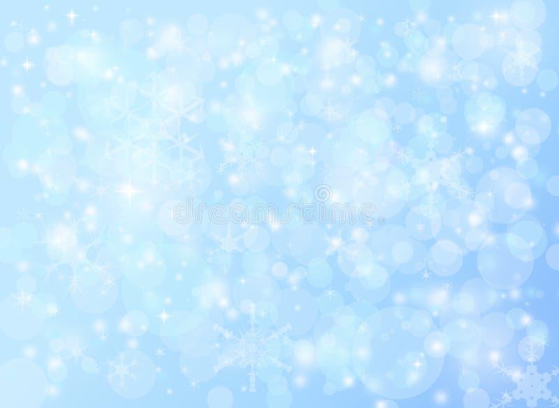 Bakgrund för snö för jul för vinterferie fallande abstrakt arkivbild