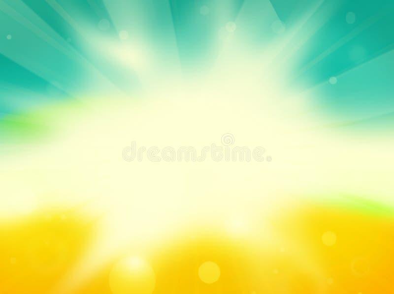 Bakgrund för sommartid fotografering för bildbyråer