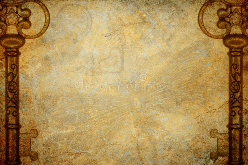 Bakgrund för Steampunk tangenttextur royaltyfri foto
