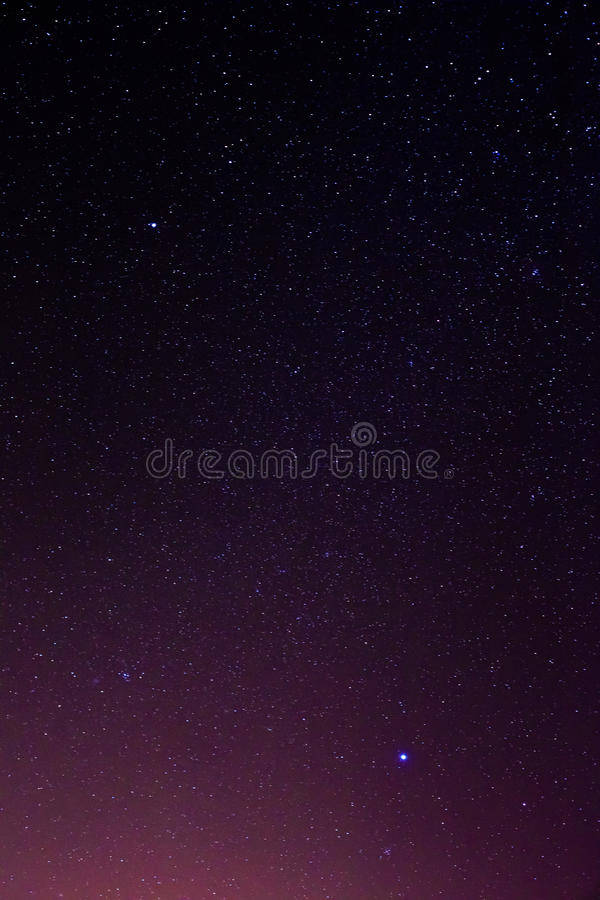 Bakgrund för stjärnor för natthimmel arkivbilder