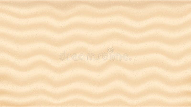 Bakgrund för strand sand royaltyfri illustrationer