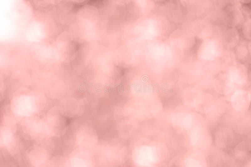 Bakgrund för suddig bokeh för tappning rosa rosa mjuk pastellfärgad royaltyfri fotografi