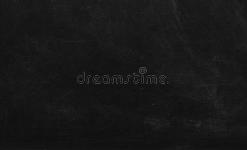 Bakgrund för svart kalkplatta Kalktavla, svarta tavlor, skolbrädans yta med repor och kritspår arkivbilder