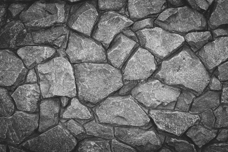 Bakgrund för tappningmodellsten Abstrakt gr? grungetextur Grå färggranityttersida, golv Gammalt stena väggen, tegelstenvägg Vagga royaltyfria bilder