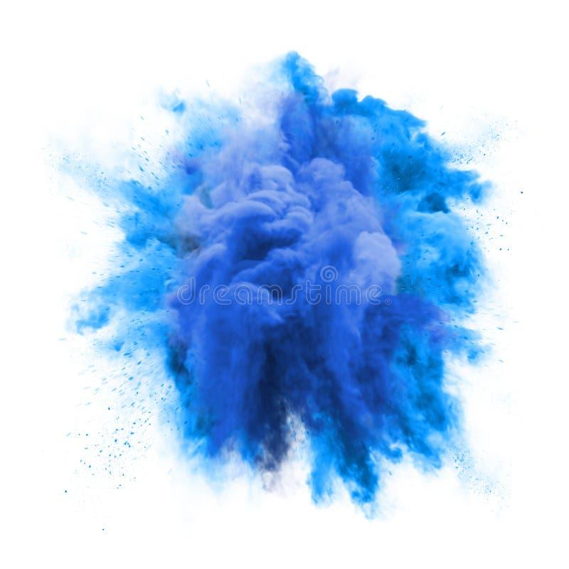 Bakgrund för textur för abstrakt begrepp för färgstänk för moln för damm för partikel för explosion för grön färg för målarfärgpu fotografering för bildbyråer