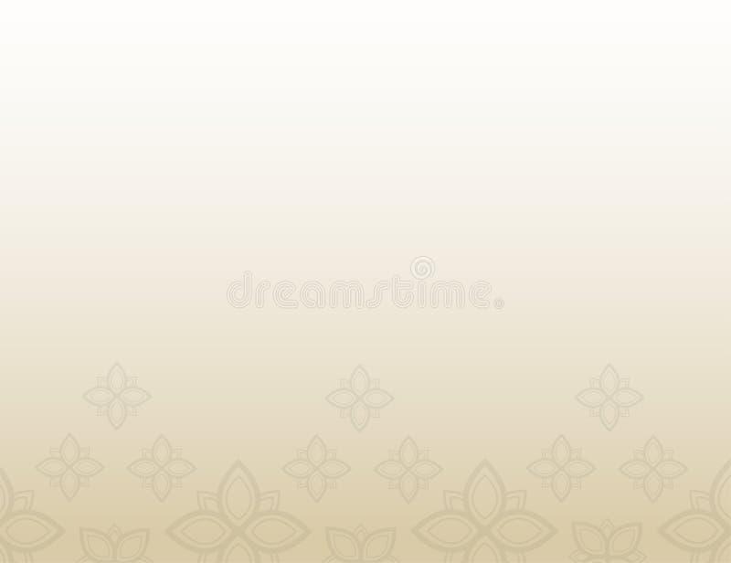 Bakgrund för textur för blom- modell för konsttappningvektor gammal stock illustrationer