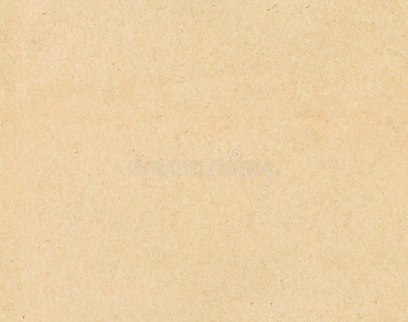 Bakgrund för textur för brunt gammalt tappningpapper sömlös fotografering för bildbyråer