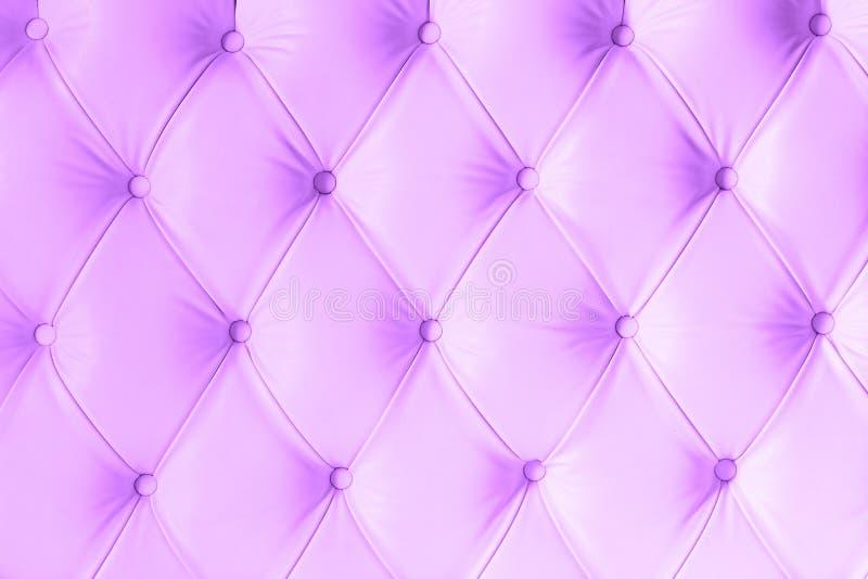 Bakgrund för textur för tappninglilaläder arkivfoto