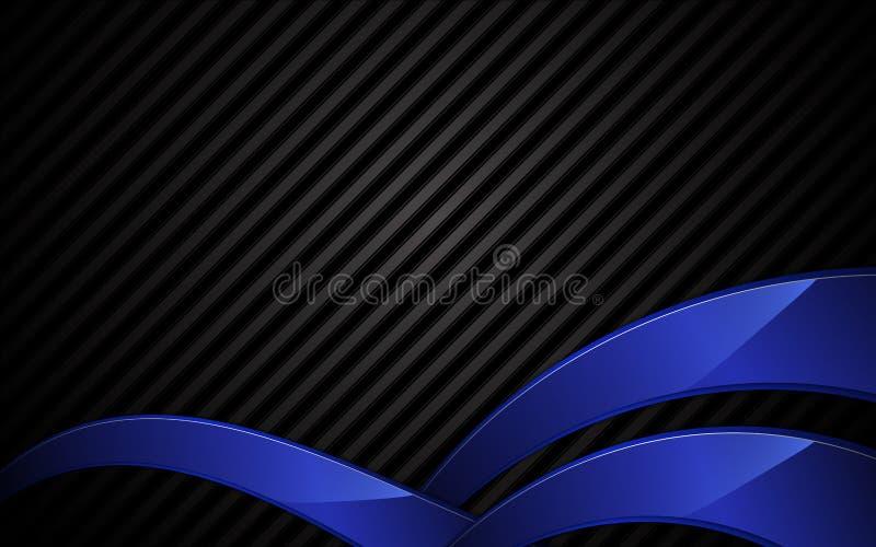 Bakgrund för textur för vektorabstrakt begreppstål och för begrepp för blåttramteknologi royaltyfri illustrationer