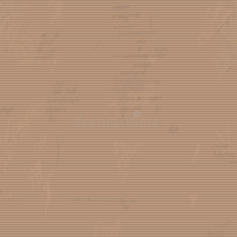 Bakgrund för textur för Kraft papper Textur för Kraft papper, illustration Eps10 vektor illustrationer