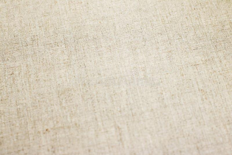 Bakgrund för textur för linnekanfas arkivbild