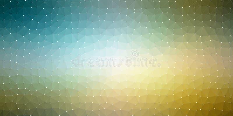 bakgrund för textur för Polygonal triangel för färg 3D geometrisk royaltyfri illustrationer