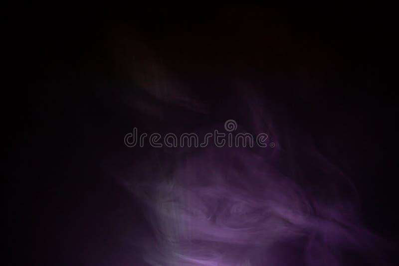 Bakgrund för textur för purpurfärgad färgrök abstrakt arkivfoton