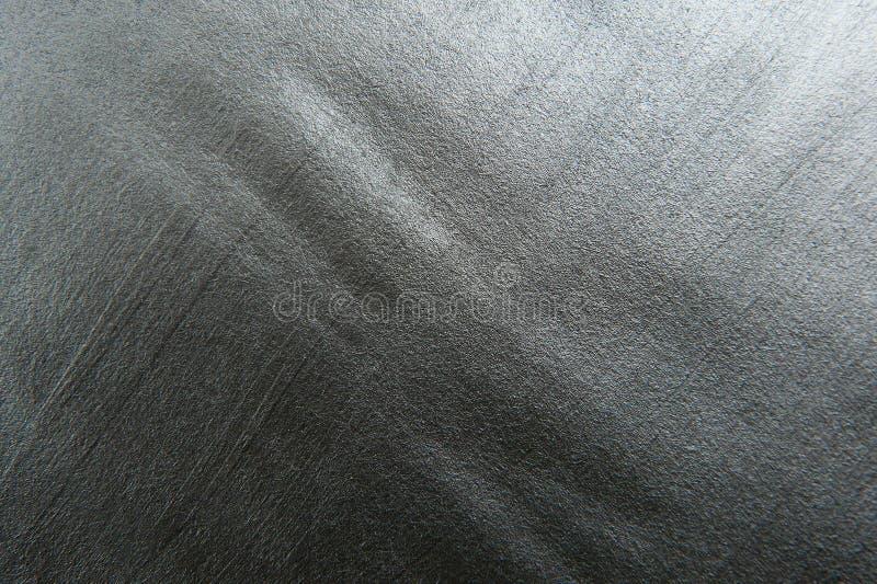 Bakgrund för textur för silver metallisk målad dekorativ royaltyfri foto