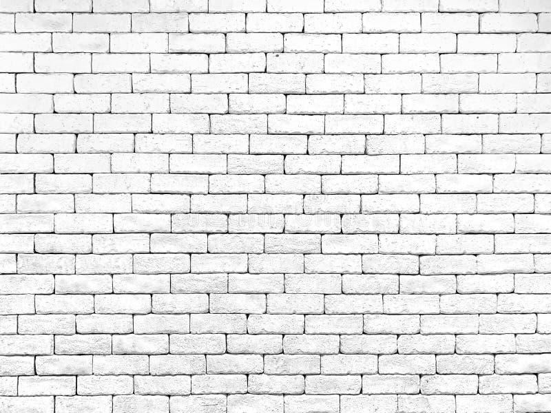 Bakgrund för textur för tegelstenvägg vit royaltyfri bild