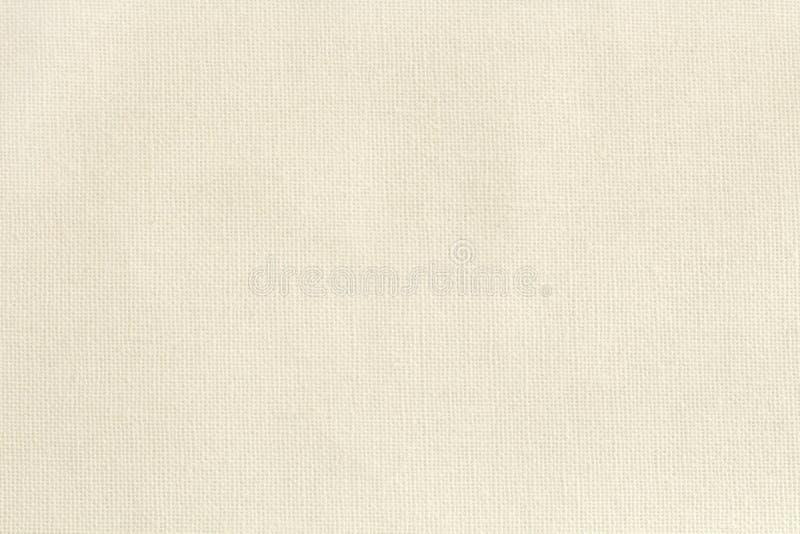 Bakgrund för textur för torkduk för bomullstyg, sömlös modell av den naturliga textilen arkivfoto