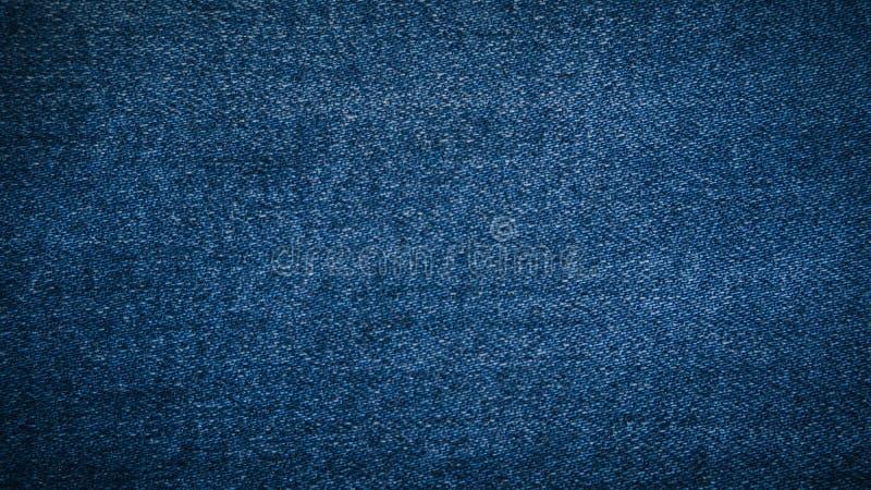 Bakgrund för texturgrov bomullstvilljeans royaltyfria bilder