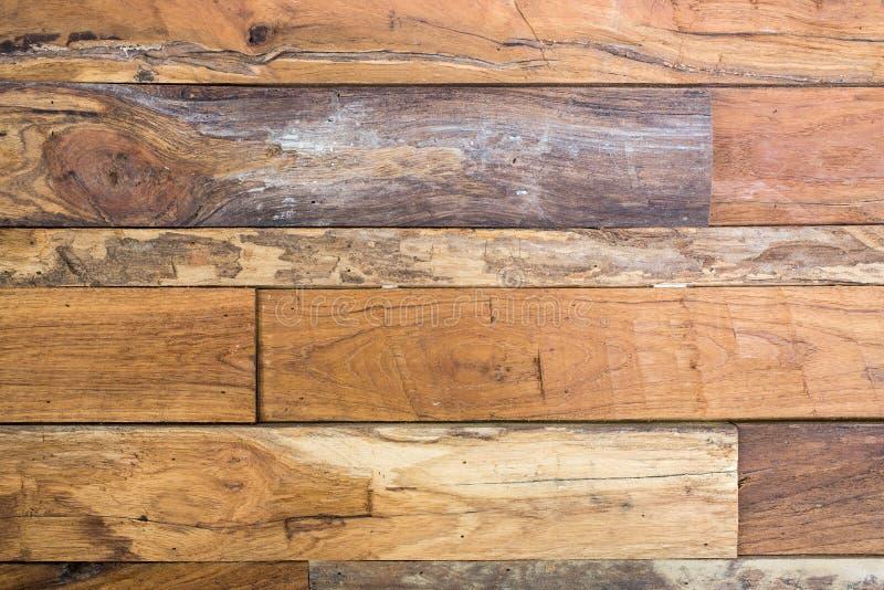 Bakgrund för träbrunttextur fotografering för bildbyråer