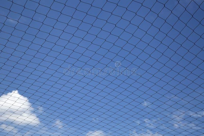 Bakgrund för trevligt ingrepp och för blå himmel fotografering för bildbyråer