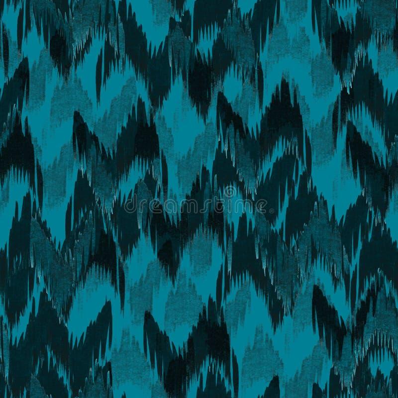 Bakgrund för vattenfärg för aztec sömlös hand för sparremodellikat grafisk royaltyfri illustrationer