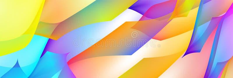 Bakgrund för vektor för lutningabstrakt begrepputrymme mångfärgad med illustrationfläckar Modellen kan användas för aquaannonsen, vektor illustrationer